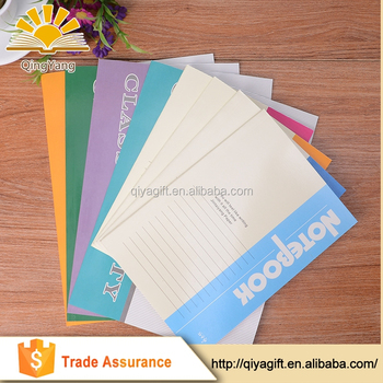Wholesale Recycled Customized Office Blank Paper Notebook With Personalized Notebook Printing Buy Cheap Paper Notebooks A4 A5 A6 Notebook A5