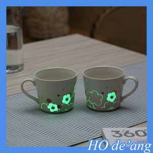 HOGIFT Magic luminous ceramic firefly mug/cup 11 oz lovely firefly cup for coffee