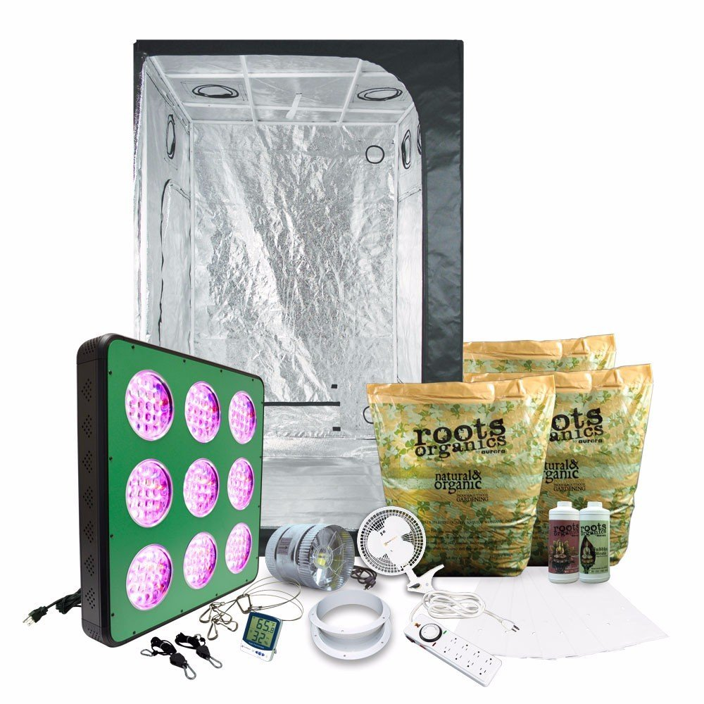 Get Quotations · 4x4 LED Grow Tent Kit Complete with AgroMax 4x4 (47 x47 x79   sc 1 st  Alibaba & Cheap Grow Tent Kit Led find Grow Tent Kit Led deals on line at ...