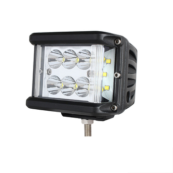 3.9 inch 60w led side shooter strobe work light