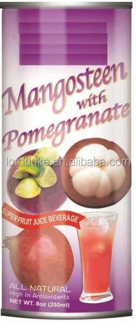 Mangosteen with Pomegranate Juice can