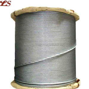 Galvanized 1x19 used steel wire rope