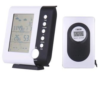 Delightful Large Display Digital Weather Station Clock RF 433mhz Wireless Weather  Station Clock