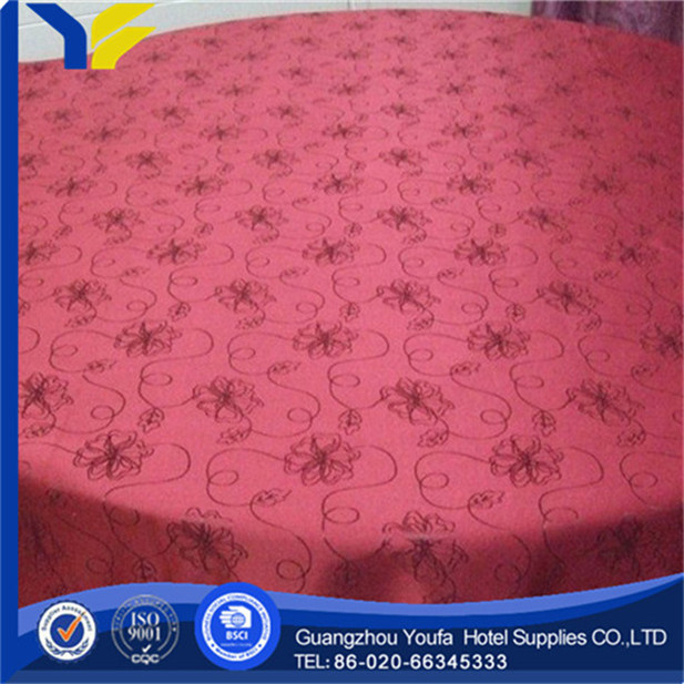 woven china wholesale square adhesive recycle table cloth