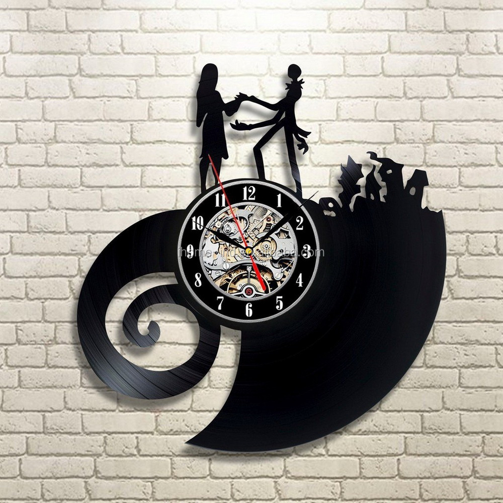 CD vinyl record Record reloj de pared reloj de pared de diseño ...