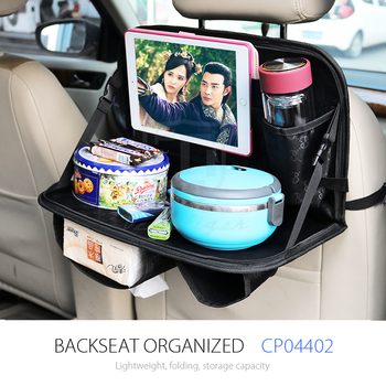 Kids Toddler Car Seat Travel Table Tray Tidy Back Organizer With