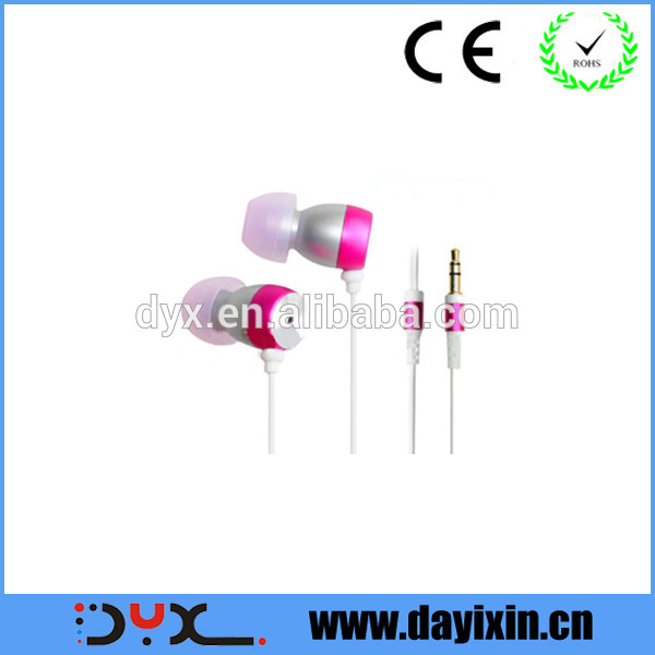 high quality low cost earphone review from China earphone factory
