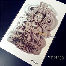 1pc Armband Temporary Tattoo  YF-H032/Mysterious Women Buddha/waterproof Big size fake tatoo sticker art/Arm,Armband,shank,Chest