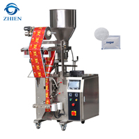 Vertical sachet 3 / 4 side sealing packing machine for sugar