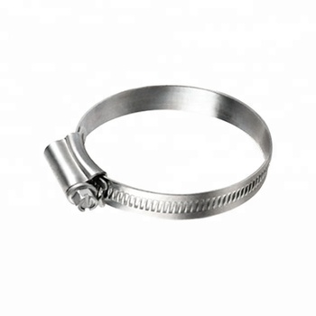 Adjust Range =140-160mm, German Type Embossed Worm Gear Hose Clamp