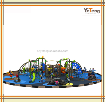 Outdoor Playground/Kids Outdoor Climbing Playground/Metal Play Structures