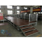 2019 High quality portable stage platform with railing for outdoor concert for show