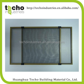 Aluminium sliding window frame grill design and horizontal for Window screens for sale