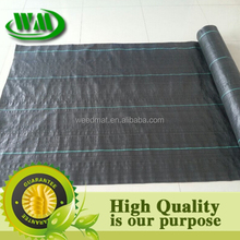 polypropylene ( pp) slit film woven Weed Control Ground Cover Membrane Landscape Fabric