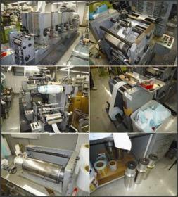 Refurbished Lr25 Uv Letter Press Intermittent Printing