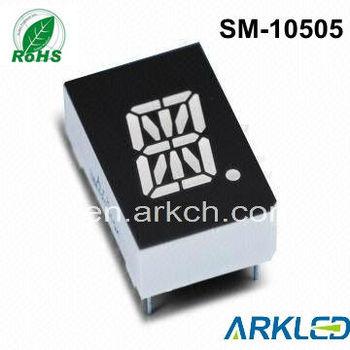 12.7mm (0.5inch)16 Segment Single Digit Alphanumeric Led Display ...