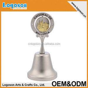 Personalized top quality novelty souvenir metal dinner bell