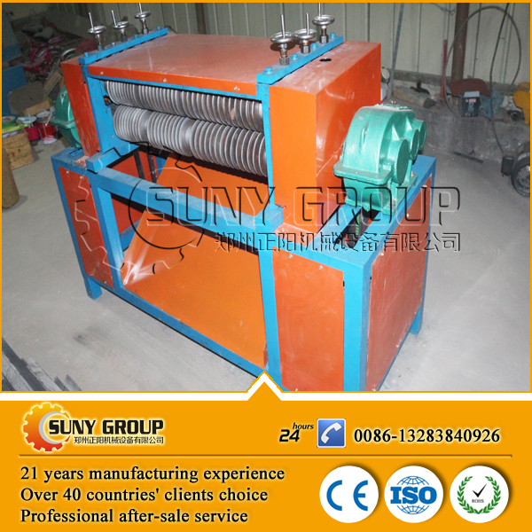 High Efficiency Refrigerator Radiator Recycle Machine for Aluminum Copper