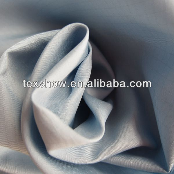 Ripstop polyester pongee fabric