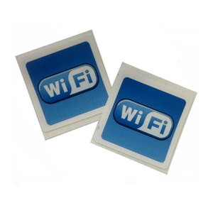 NTAG 215 free sample wifi self-adhesive paper rfid tag