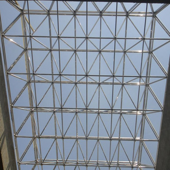 Construction Hall Roof Atrium Roof Consist Of Strainless
