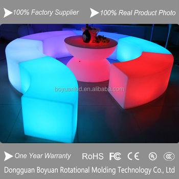 Wonderbaar Led Cube Voor Bruiloft Decoratie,Outdoor Zitkubus Verlichting/led BA-95