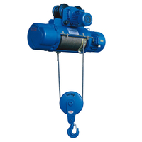 KCD manual lifting motor small wire rope electric hoist