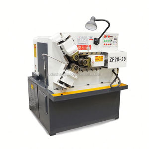 Automatic thread rolling machine splicing machine knurling machine