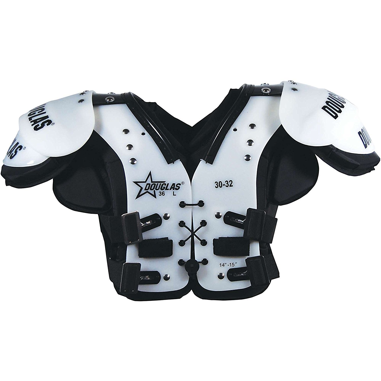 Douglas Jp36 Series Youth All-Position Football Shoulder Pads