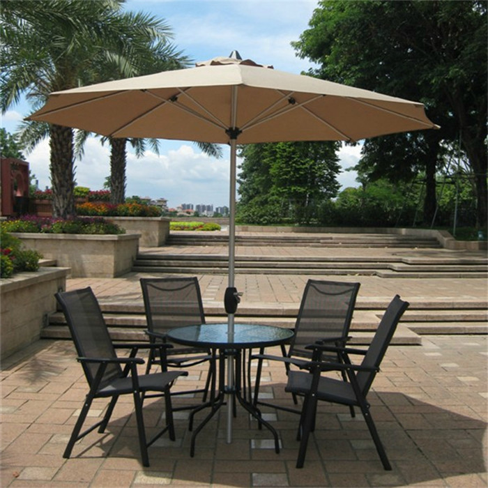 Wholesale OEM Outdoor Table With Umbrella Hole