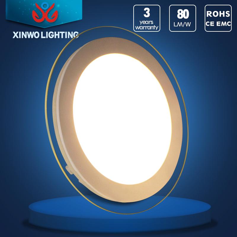 estilo sencillo dormitorio de la iluminacin llev la luz del panel para