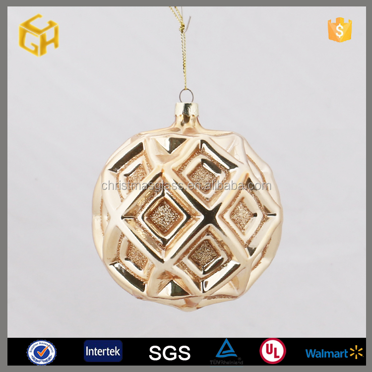 2016 Personalized Wholesale Glass Christmas Ball Ornaments