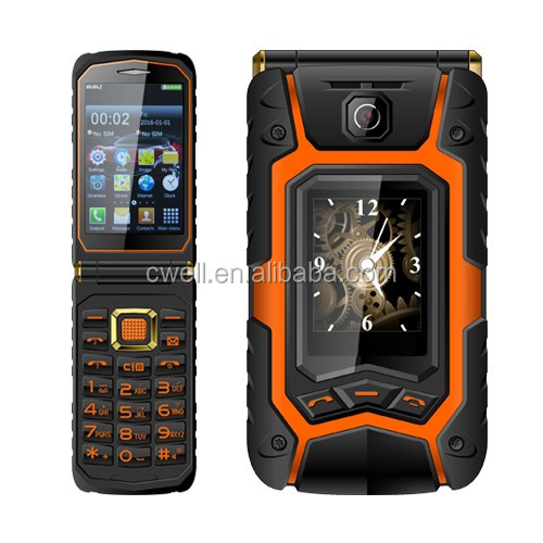 Rover X9 Dual Sim Card Screen Display Low Price T Mobile Rugged Flip Phone