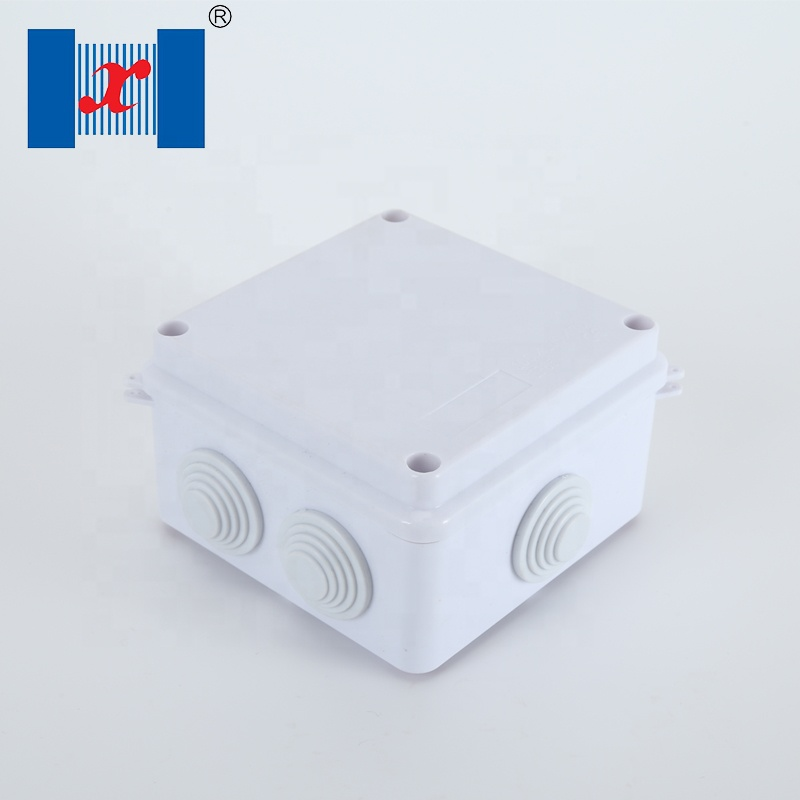 158x90x64mm Screw Mount ABS Junction Box Enclosure w PC Clear Cover