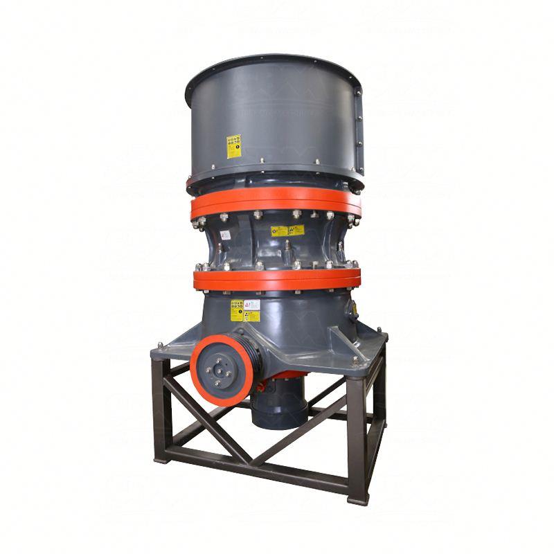 Equipos de minería de oro giratoria cono trituradora para la venta con capacidad de 6-20 tph