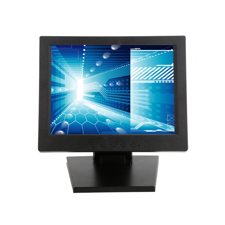 Hot 4- Wires 12 inch tft lcd pos touch screen monitor usb vga hd mi