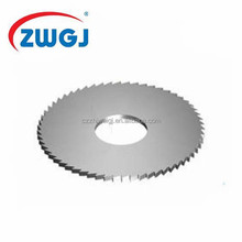 Ultra thin TCT circular saw blade for cutting metal and aluminum