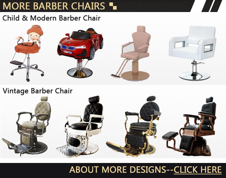ヘアサロンセット油圧ポンプ理髪店の椅子ヘビーデューティ理髪椅子