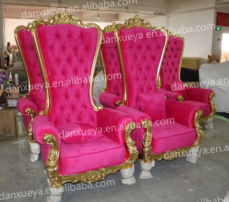 Golden Spa Saloon Nail Beauty Furniture Pink Luxury