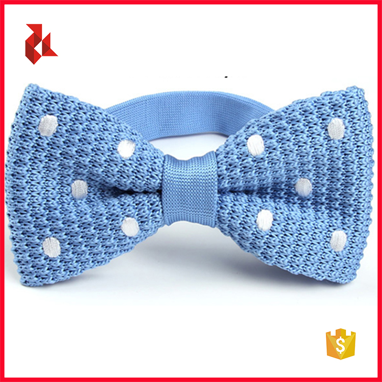 2018 Kelly Green Fashion Knitted Bow Ties For Kids