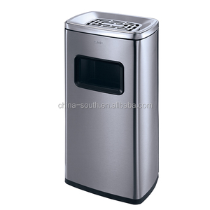 2018 new 30L Cheaper Stainless steel elevator cigarette waste bin