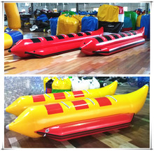 High Quality 6 Person Low Factory Price Towable Inflatable Water Banana Boat For Sale