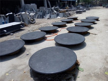Blue Limestone Table Top, outdoor round blue stone table tops