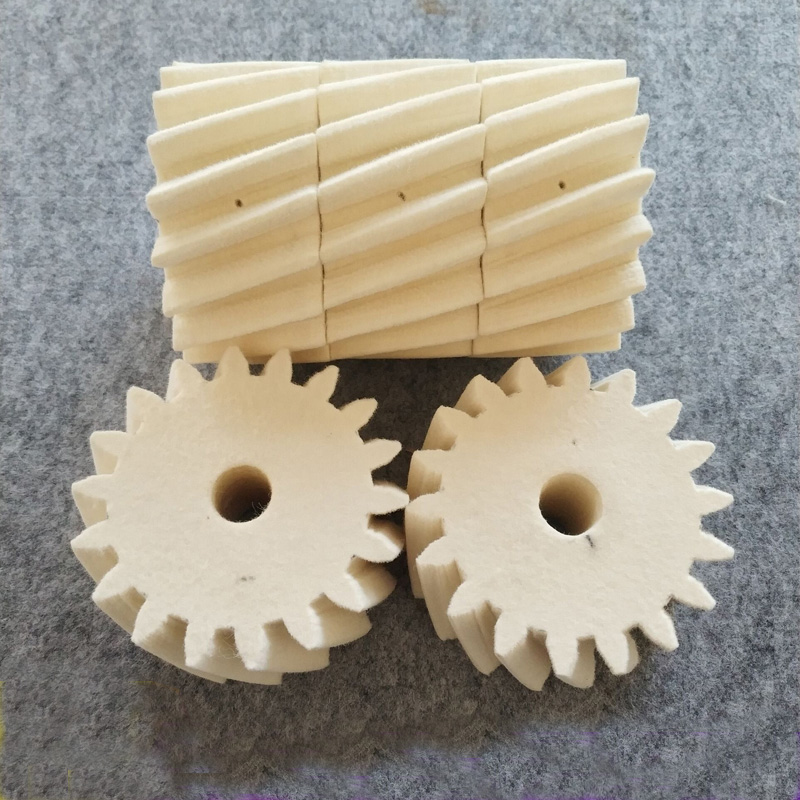 Hot selling wool felt wheel <strong>gear</strong>