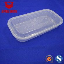18500 food container packaging Box 1700ml Plastic Disposable Food Box