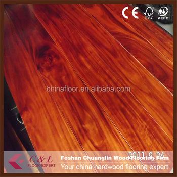 Foshan Hotsale Cheap Prefinished Acacia Wood Stair Tread