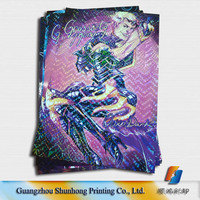 Bulk color picture laminated posters printing