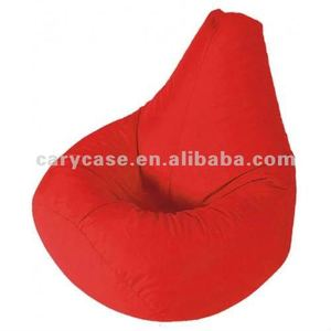 Water Resistant Fabric Red Beanbag , Drop Shape Beanbag, New Bean Bag  Chair, Red Sofas