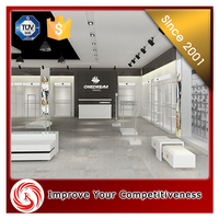 online retail store metal interior decoration clothing store