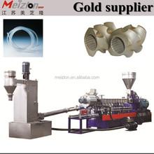 PE/PP/PA/PET/ ABS granules plastic pelletizing production line/injection molding machinery/used branches shredder